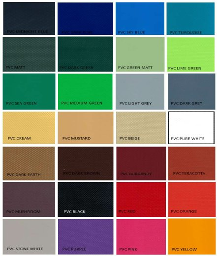 Outdoor Jacuzzi Cover Colours